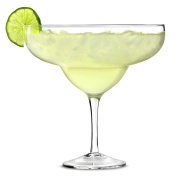 Giant Margarita Glass 1.3ltr - Set of 4 Giant Cocktail Sharer for Decorative Drinks and Centrepieces