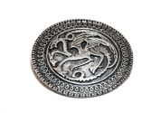 Targaryen Dragon Badge Brooch Song Of Ice And Fire Game Of Thrones Pin