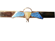 Parachute Qualification Wings Military Tie Clip
