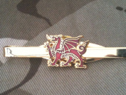 Royal Welsh Fusiliers Military Tie Clip Standing dragon