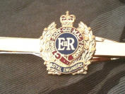 Royal Corps of Engineers Regimental Military Tie Clip