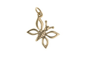 9ct Gold Butterfly Charm