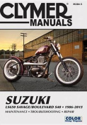 Suzuki LS650 Savage/Boulevard S40 Motorcycle Repair Manual