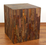 Beautiful Handmade Sitting Block, Wooden Stool, Plant Stand, Side Table, Footrest, Handmade in Java (Indonesia)