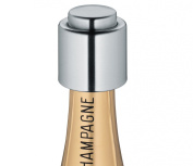 Cilio 18/10 Stainless Steel Champagne Sealer, Set of 3