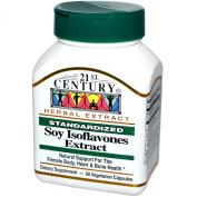 21st Century Health Care, Soy Isoflavones Extract, Standardised, 60 Veggie Caps