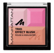 Manhattan Trio Effect Blush - Pink Cupcake
