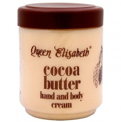 Queen Elisabeth Cocoa Butter Hand & Body Cream