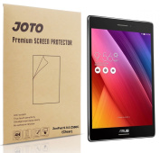 ASUS ZenPad S 8.0 Z580C Screen Protector Film (2015 ASUS ZenPad Z580C, Z580CA, S8.0) - JOTO Ultra Crystal Clear (Invisible) Screen Guard for ASUS ZenPad S 8.0 Z580C, Lifetime Warranty