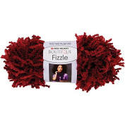 Coats Yarn Red Heart Boutique Fizzle Yarn, Cranberries