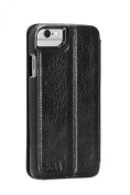 Sena Heritage Wallet Book Case Cover for Apple iPhone 6 Plus, Black