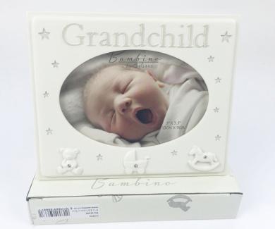 Grandchild Photo Frame For the Grandparents New Baby Birth Gift Girl Boy