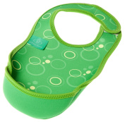 Bibetta Small Green Bubble Ultra Bib