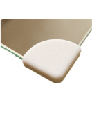 Moolecole 4X Baby Corner Edge Guard Protection Cushions Desk Table Cover Protector Child Safety Guard White