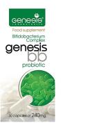 Genesis Bifidobacterium Complex BB Probiotic 30 capsules of 240 mg