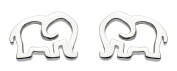 Dew Sterling Silver Elephant Stud Earrings 4040HP