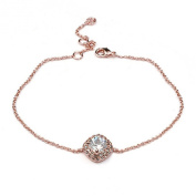 La Vivacita fashion Bracelet with. crystals 18ct rose Gold plated High Quality gift for women