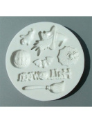 Halloween - Silicone Icing Moulds for Cake and Cupcake Decoration