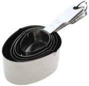 Norpro Stainless Steel Measuring Cup, Set of 5