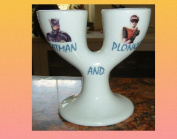 ONLY FOOLS AND HORSES BATMAN AND PLONKER DOUBLE EGGCUP