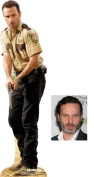 Fan Pack - Rick Grimes from The Walking Dead Lifesize Cardboard Cutout / Standee (Andrew Lincoln) - Includes 8x10 (20x25cm) Star Photo