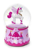 Magical Musical Unicorn Snow Globe for Girls
