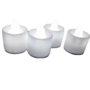 1P LED 5 Colour Flash Flicker Flameless Battery Electronic Candle Tea Light