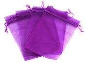 MBOX Colourful 10cm x 15cm Organza Drawstring Pouch Bag 100pcs