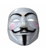 Boolavard® TM V For Vendetta Anonymous Guy Fawkes The Mask Halloween Cosplay Masks