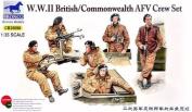 Bronco - WWII British / Commonwealth AFV Crew Set - 1:35 model kit
