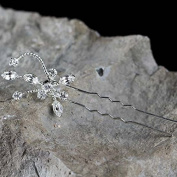 Darice VL3012 Starburst Rhinestone Jewelled Hairpin