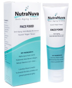 FACE FOOD - BEST Anti Ageing Wrinkle Cream & Eye Moisturiser - Hyaluronic Acid, Matrixyl 3000, Vitamin C, Marine Collagen etc. Plastic Surgeon Recommended - Night/Day Skin Care Moisturiser for Men Too