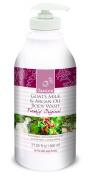 Janice Goat's Milk and Argan Oil Body Wash, Freshly Original, 27.05 Fluid Ounce