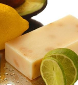 Kaffir Lime Soap From Tasmania Australia All Natural with Leatherwood Honey and Bees Wax From Tasmania Australia 130ml
