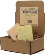 Yankee Traders Brand All Natural Handmade Soap Assortment, Ginger Lime and Lemongrass Citrus