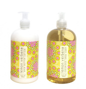 Lemon Verbena Shea Butter Hand & Body Lotion and Lemon Verbena Shea Butter Hand Soap Duo Set 470ml each by Greenwich Bay Trading Co.