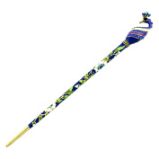 YOY Fashion Hair Decor Chinese Traditional Style Women Girls Hair Stick Hairpin Hair Making Accessory Austrian Crystal with Peacock,Blue