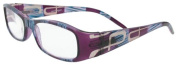About Eyes G467 Purple / Blue Reading Glasses - Strength + 1.50 with Pouch