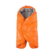 7 A.M. ENFANT Nido Car-Seat Baby Wrap, Orange Peel, Large