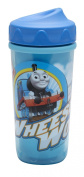 Zak! Designs Toddlerific Perfect Flo Toddler Cup with Thomas the Train, Double Wall Insulated Construction and Adjustable Flow Technology, Break-resistant and BPA-free Plastic, 260ml