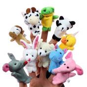 10 Animal Finger Puppets