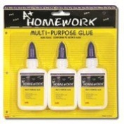 WHITE SCHOOL GLUE - 3 PACK