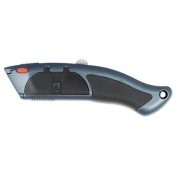 Auto-Load Razor Blade Utility Knife with Ten Blades, Sold as 1 Each