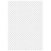 Kaisercraft Embossing Folder 10cm x 15cm -Tiny Dots