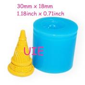 3D Delicious Ice Cream Cone Silicone Mould Food Safe