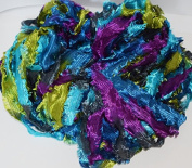 100 Gr Hank Fringe Ribbon Super Soft & shiny Yarn