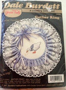 Goose Feeding Gather Ring, a country fabric kit