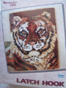 Tiger Latch Hook Rug Kit