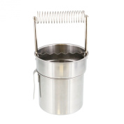 US Art Supply Deluxe Brush Cleaner with Wash Tank