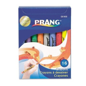 Crayons Made with Soy, 16 Colours/Box, Sold as 16 Each
